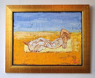 Jacek Łydżba : Ariadna : Oil on Canvas