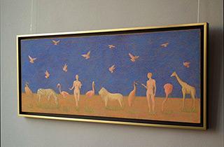 Mikołaj Kasprzyk : Paradise : Oil on Canvas