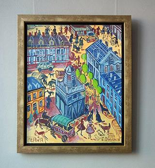 Edward Dwurnik : Mława : Oil on Canvas