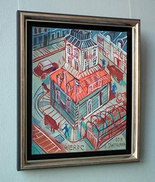 Edward Dwurnik : Sierpc : Oil on Canvas