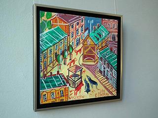 Edward Dwurnik : Wyszków : Oil on Canvas