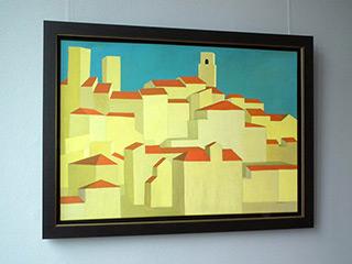 Katarzyna Castellini : San Gimignano : Oil on Canvas