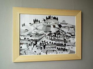Katarzyna Castellini : San Gimignano : Pencil on Paper