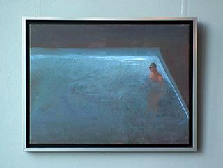 Katarzyna Karpowicz : In the pool : Oil on Canvas
