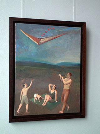 Katarzyna Karpowicz : Kite : Oil on Canvas