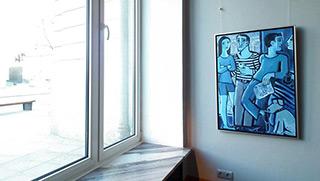 Krzysztof Kokoryn : La Stampa : Oil on Canvas