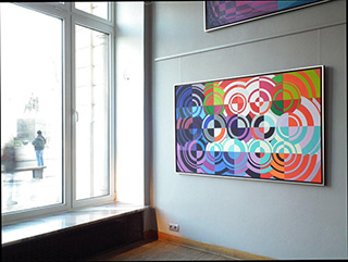 Małgorzata Jastrzębska : Painting no 345 : Oil on Canvas