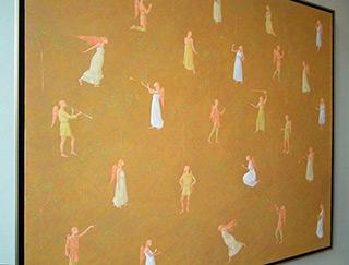 Mikołaj Kasprzyk : Angels : Oil on Canvas