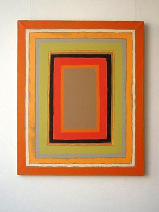 Łukasz Majcherowicz : Orange : Oil on Canvas