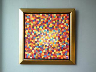 Zofia Matuszczyk-Cygańska : Surface of the sun : Oil on Canvas