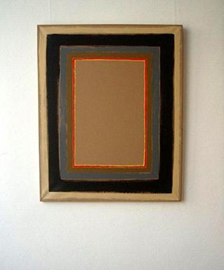 Łukasz Majcherowicz : Beige : Oil on Canvas