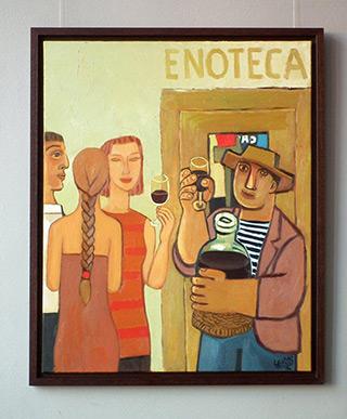 Krzysztof Kokoryn : Enoteca : Oil on Canvas