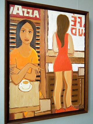 Krzysztof Kokoryn : Lavazza : Oil on Canvas