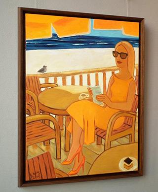 Krzysztof Kokoryn : No bother me : Oil on Canvas