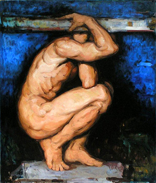 Maciej Deja - Figure Blue