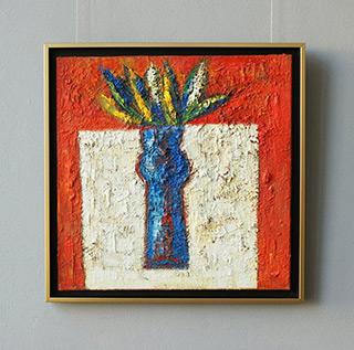Darek Pala : White table : Oil on Canvas