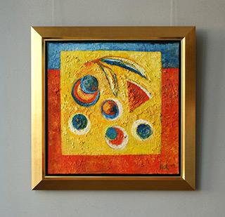 Darek Pala : Yellow table : Oil on Canvas