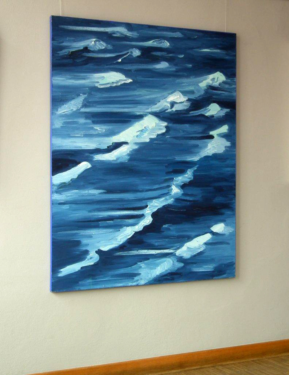 Edward Dwurnik : Blue