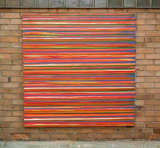 Edward Dwurnik : Cykl XXV obraz nr 44 rok 2001 : Oil on Canvas