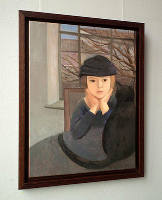 Katarzyna Karpowicz : Conversation : Oil on Canvas