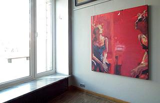 Katarzyna Swinarska : Tendress in Berlin : Oil on Canvas