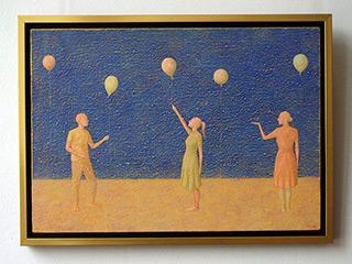 Mikołaj Kasprzyk : Balloons : Oil on Canvas
