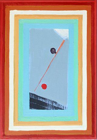 Łukasz Majcherowicz : Between Heaven and Earth : Oil on Canvas