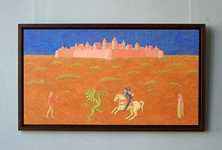 Mikołaj Kasprzyk : St Georg : Oil on Canvas