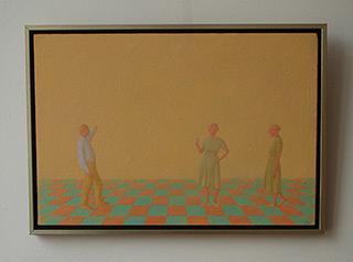 Mikołaj Kasprzyk : Reflection : Oil on Canvas
