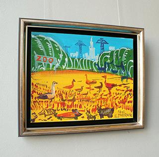 Edward Dwurnik : ZOO : Oil on Canvas