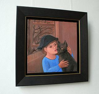 Katarzyna Karpowicz : Friendship from childhood : Oil on Canvas
