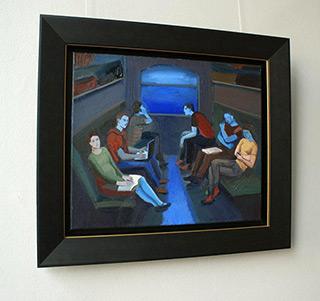 Katarzyna Karpowicz : Night journey : Oil on Canvas