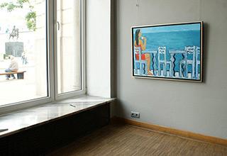 Krzysztof Kokoryn : Greek holiday : Oil on Canvas