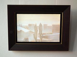 Piotr Bukowski : Misty landscape : Oil on Canvas