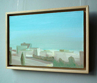 Piotr Bukowski : Morning over the district : Oil on Canvas
