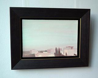 Piotr Bukowski : Over roofs : Oil on Canvas