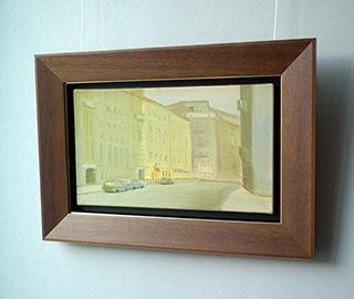 Piotr Bukowski : Yellow houses : Oil on Canvas