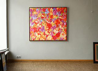 Beata Murawska : Garden : Oil on Canvas