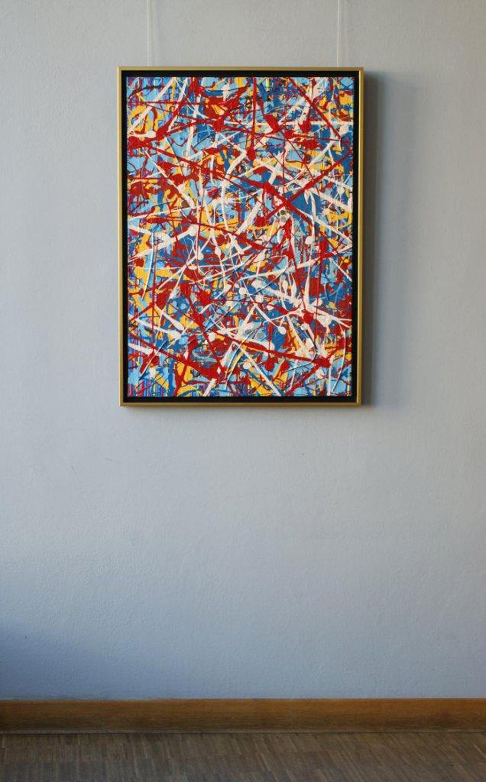 Edward Dwurnik : Abstract painting