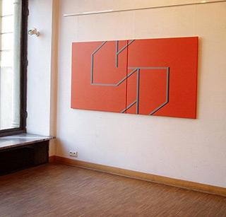 Radek Zielonka : Synergie : Acrylic on Canvas
