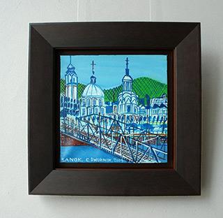 Edward Dwurnik : Sanok : Oil on Canvas