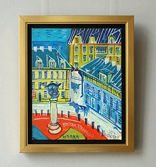 Edward Dwurnik : Warka : Oil on Canvas