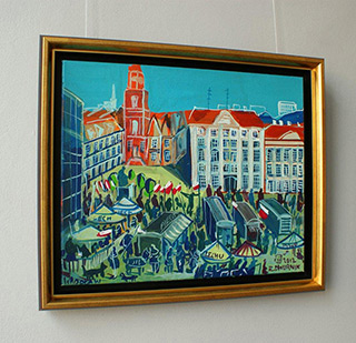 Edward Dwurnik : Wrocław : Oil on Canvas
