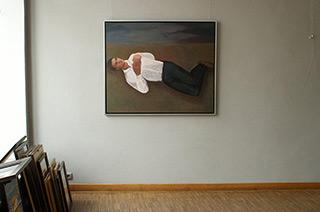 Katarzyna Karpowicz : Economist : Oil on Canvas