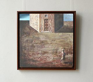 Łukasz Huculak : All along the tower : Oil on Canvas