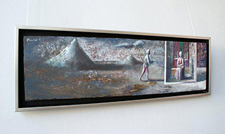 Łukasz Huculak : Messenger : Oil on Canvas