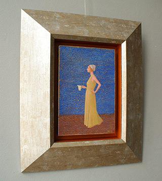 Mikołaj Kasprzyk : Jug with milk : Oil on Canvas