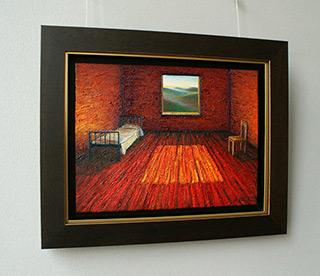 Adam Patrzyk : Bedroom : Oil on Canvas