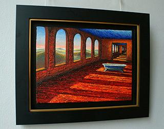 Adam Patrzyk : Suite with bath : Oil on Canvas