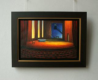 Adam Patrzyk : Theater stage : Oil on Canvas